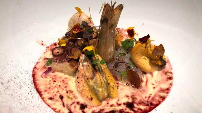 Receta de sopa de mayonesa la chef Melissa Herrera, del restaurante Valmas.