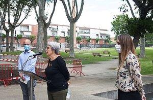 El parc La Linera de Parets reobre les seves portes i estrena un nou espai enjardinat