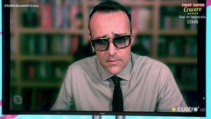 """Risto Mejide presenta 'TEM' desde un plasma y advierte sobre Vox: """"Han manipulado vídeos de este programa"""""""