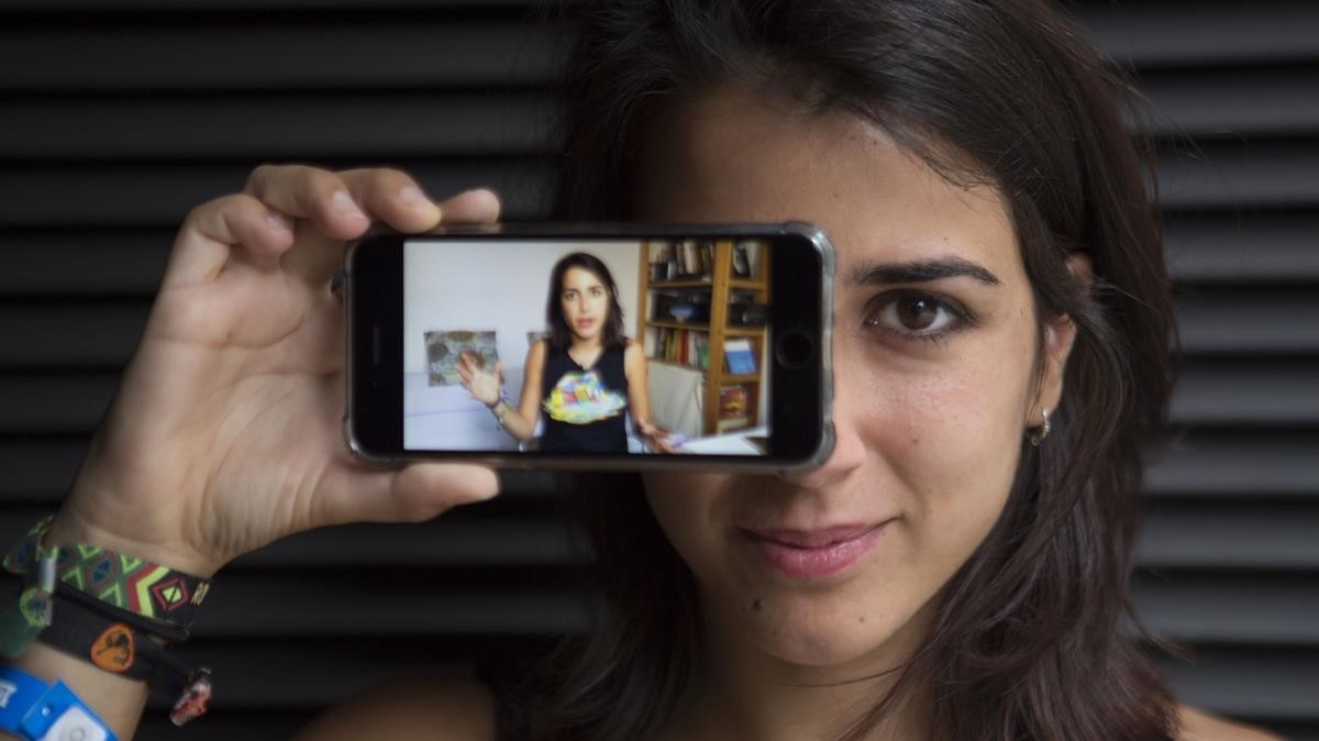 Rocío Vidal, también conocida comoLa gata de Schrodinger, una divulgadora científica que ya suma casi 74.000 seguidores en YouTube
