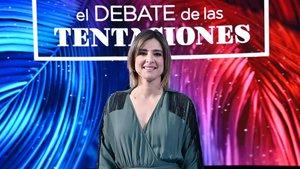 Sandra Barneda en el plató de 'El debate de las tentaciones'.