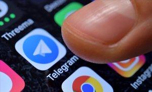 Un usuario de Telegram.