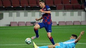 Sergi Roberto, en el partido contra el Leganés.