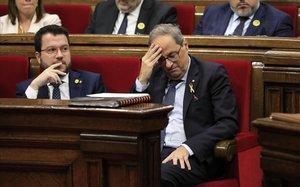 El Gobierno lleva al Constitucional más acuerdos del Parlament de septiembre