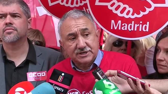 Sordo y Álvarez avisan a la CEOE: Este año no habrá desacuerdo pacífico.