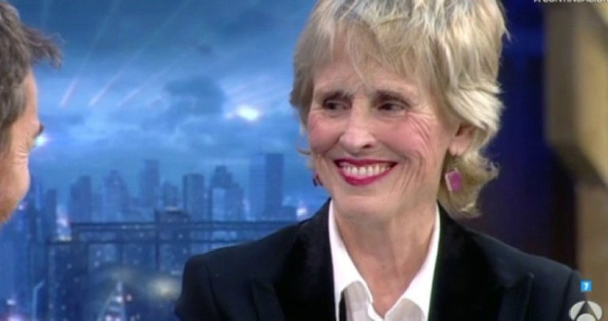 Mercedes Milá, durante su intervención en el programa de Antena 3 El hormiguero.