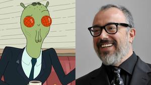 Álex de la Iglesia prestará su voz al personaje de Cornvelious Daniel en la serie de la cadena TNT 'Rick y Morty'.