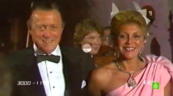 Tita Cervera, con su diamante 'La estrella de la paz' (La Sexta).