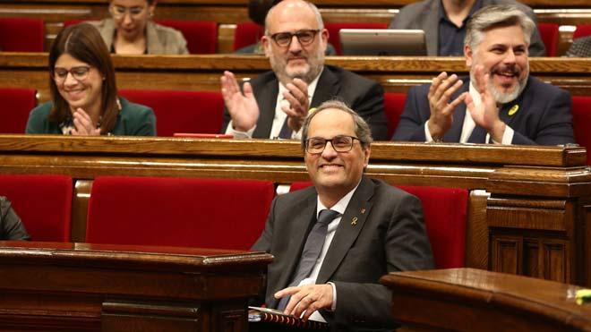 Torra pide una mesa de dialogo en España sobre su problema de fascismo.