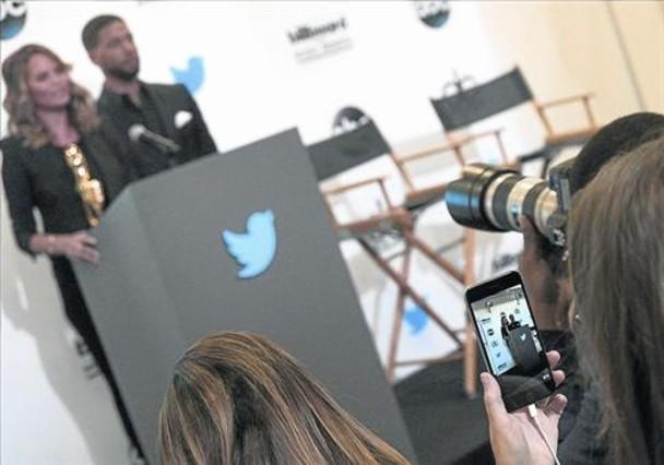 Un usuario de Periscope retransmite la presentación de los Billboard Music Awards.