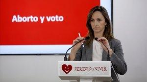 Gádor Joya, ahora diputada de Vox en la Asamblea de Madrid, en una fotografía de archivo.