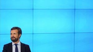 Moció de censura: Casado se centrarà en Sánchez i obviarà les pulles d'Abascal