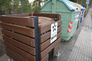 Rubí protegeix els contenidors d'escombraries orgàniques dels senglars