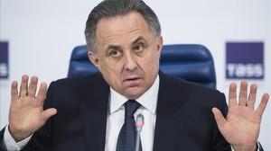 Vitali Mutkó, ministro de Deportes ruso.