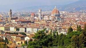 Panorámica de Florencia.