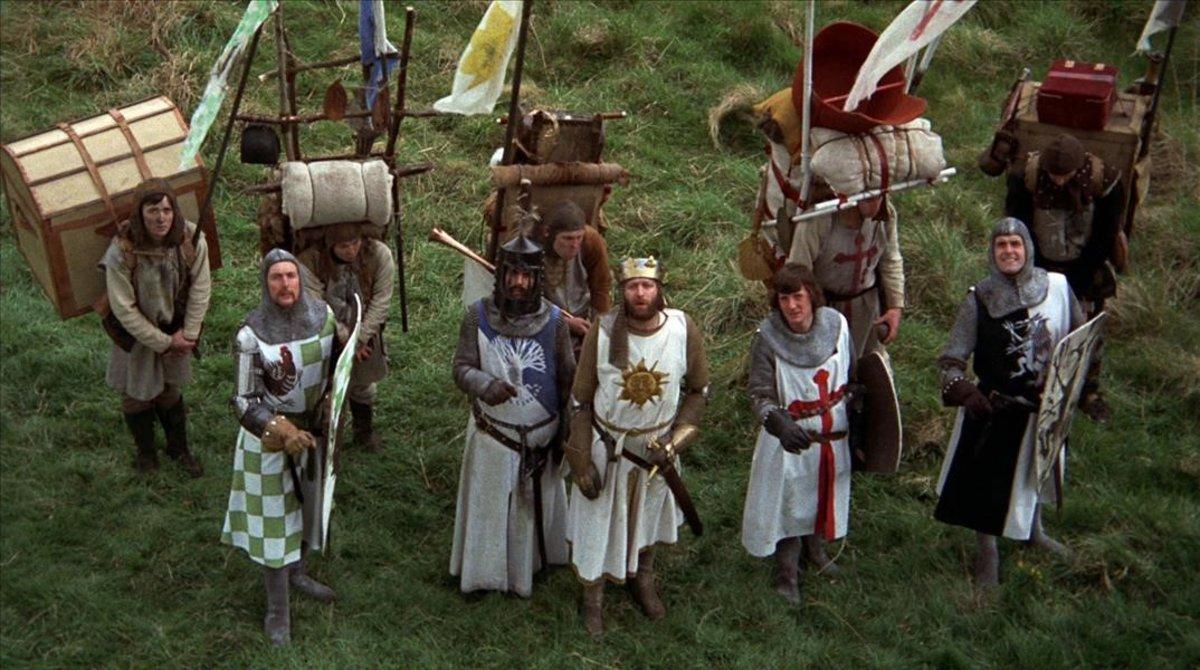 Los Monty Python en seis desternillantes películas