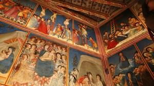 La capilla de Sant Miquel del Monestir de Pedralbes totalmente restaurada.
