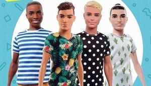 Surtidos de muñecosKen, el novio de Barbie de Mattel.