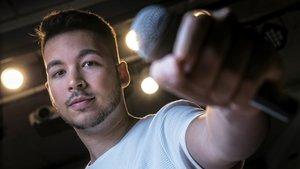 Mario Fernández: «¿La meva professió ideal? Mag 'beatboxer'»