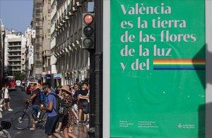 València presumeix de ser la terra de l'Orgull i VOX veta una declaració institucional