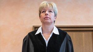Anke Grudda, la jueza que ha condenado a 13 años a los dos pederastas.