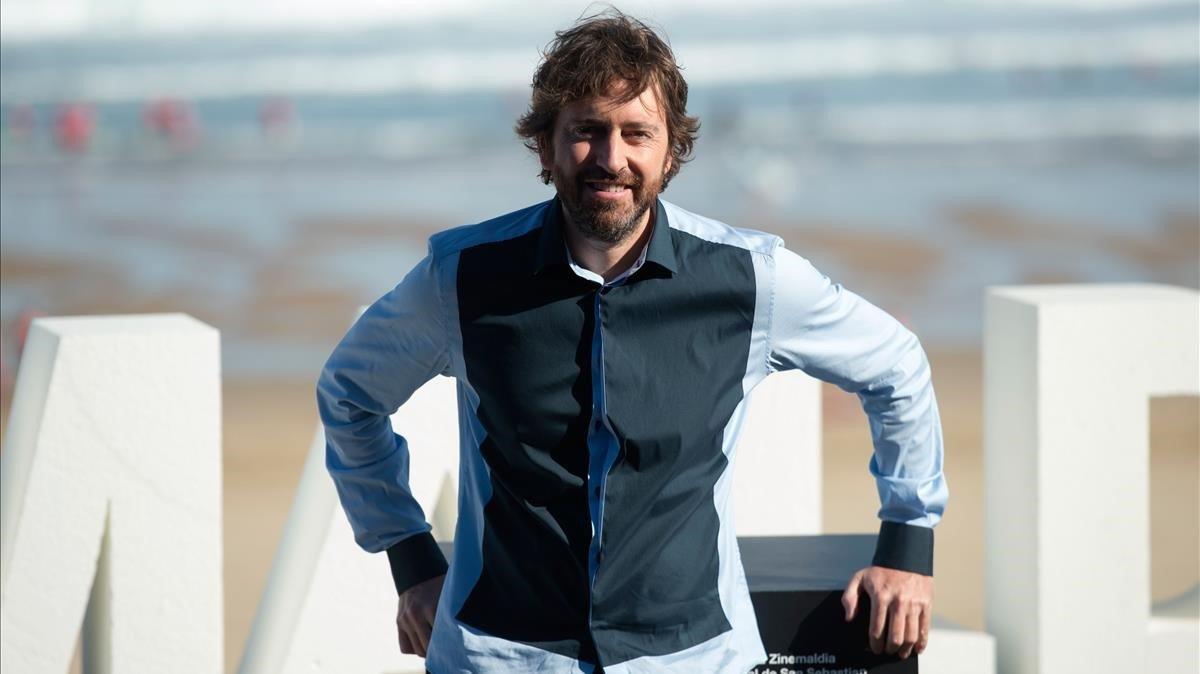 Sánchez Arévalo, este viernes en el festival de San Sebastián.