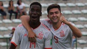 El Senegal es creua en el somni dels sub-17 d'Espanya