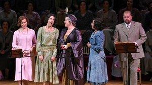 Un momento de 'Doña Francisquita', en el Liceu.