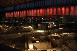 Interior del Born Centre Cultural, en la Nit dels Museus