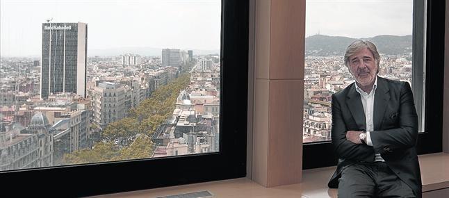 Emilio Cuatrecasas, en mayo del 2010, en su despacho de Barcelona.
