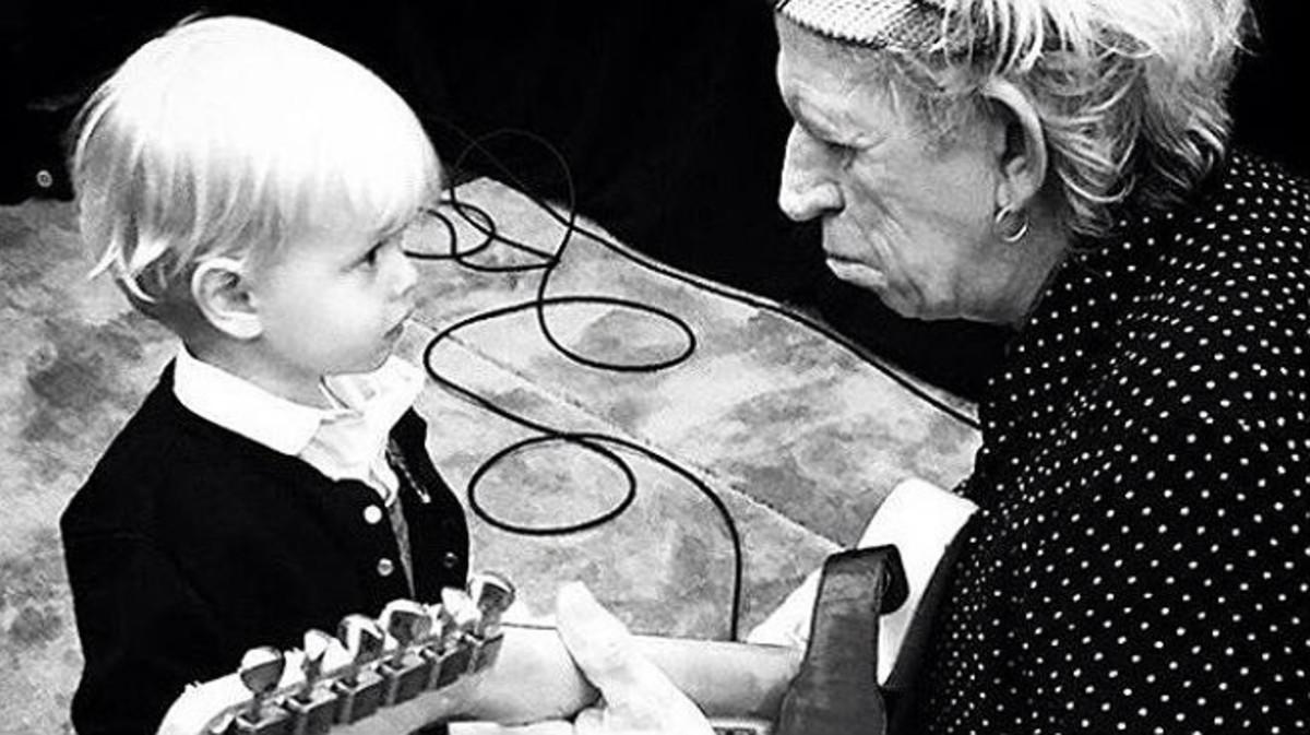El nieto de Jagger, \'nuevo\' guitarra de los Rolling Stones