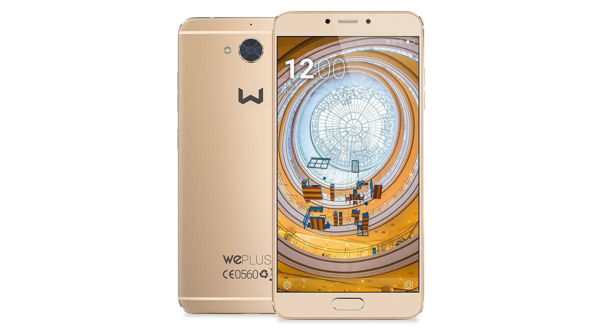 El móvil Weplus de Weimei.