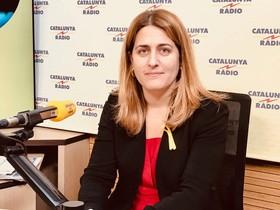 Marta Pascal, en Catalunya Ràdio, este miércoles.