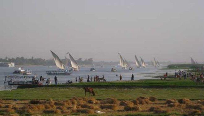 ritual equinoccio primavera en el Nilo