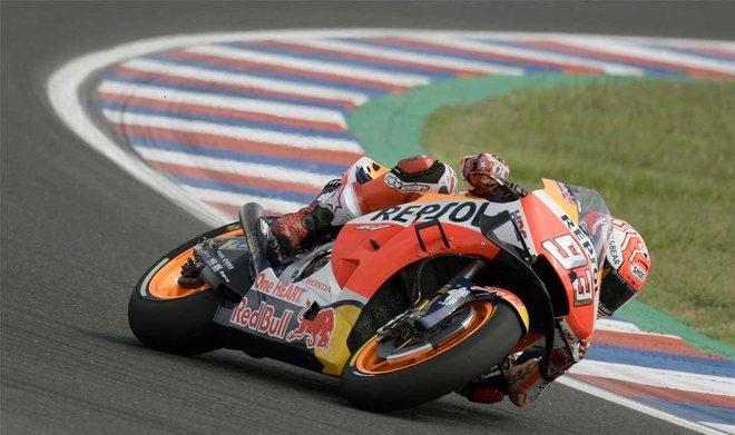 Marc Márquez es actualmente el primero de MotoGP.
