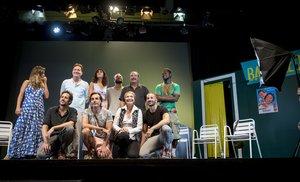 El equipo al completo de 'La canción de Ipanema'.