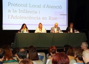 Acto de presentación del Protocolo local de atención a la infancia y a la adolescencia en riesgo de Sant Boi