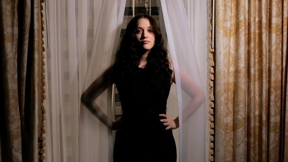 La actriz Kat Dennings.
