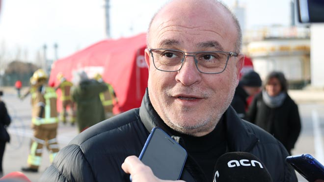 L'alcalde de la Canonja es queixa que no sonessin les sirenes després de l'explosió