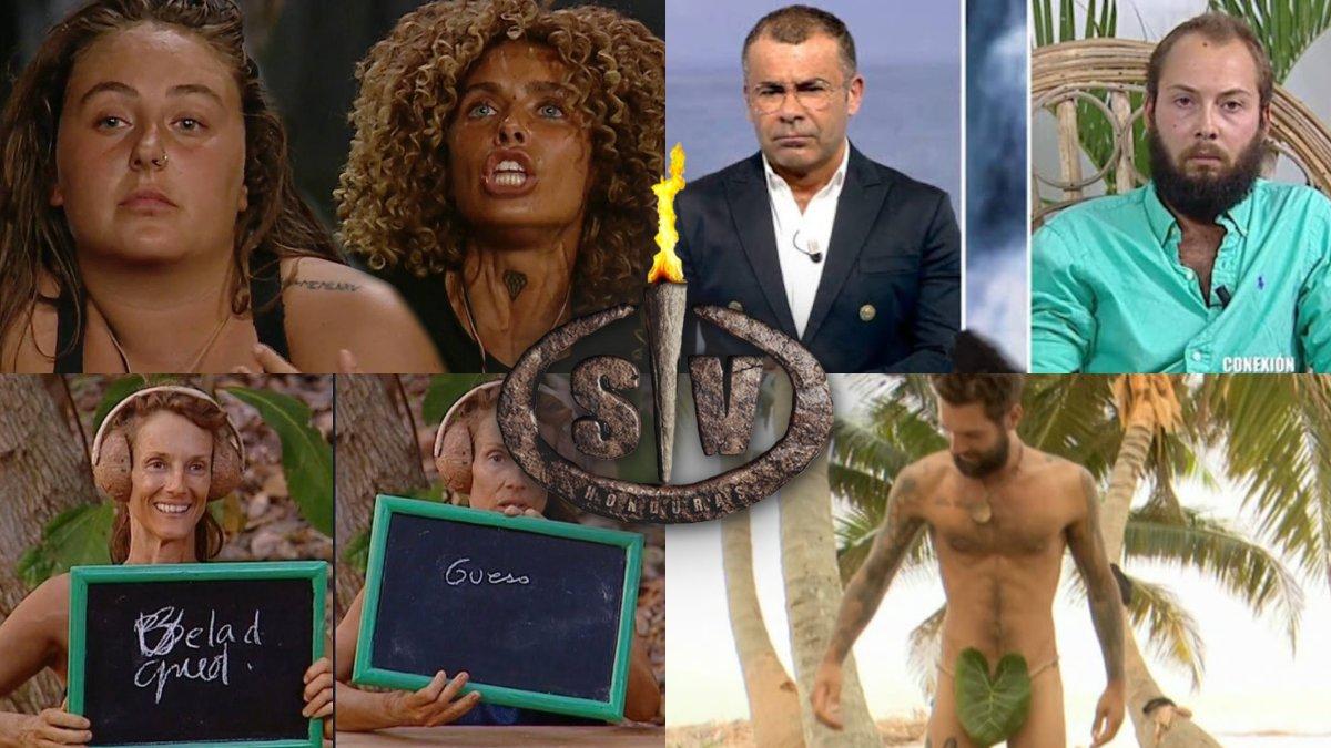 Algunos de los momentazos de 'Supervivientes 2020'.