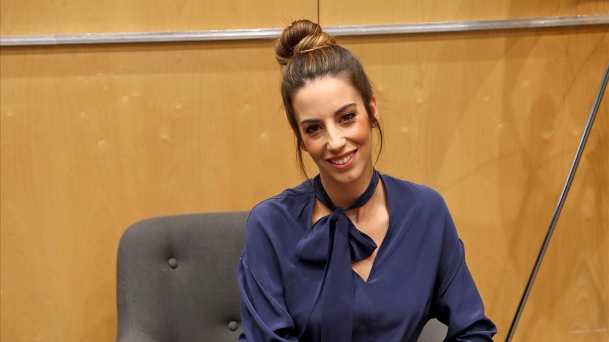 La exdeportista y actriz Almudena Cid.