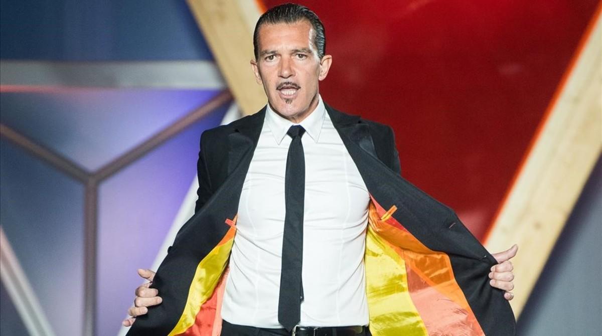 Antonio Banderas en Cannes.