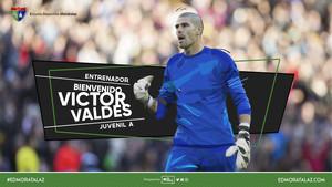 El anuncio del fichaje de Valdés por el Moratalaz.