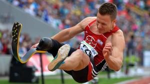 El atleta paralímpico alemán Markus Rehm.