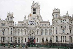 Edificio del Ayuntamiento de Madrid.
