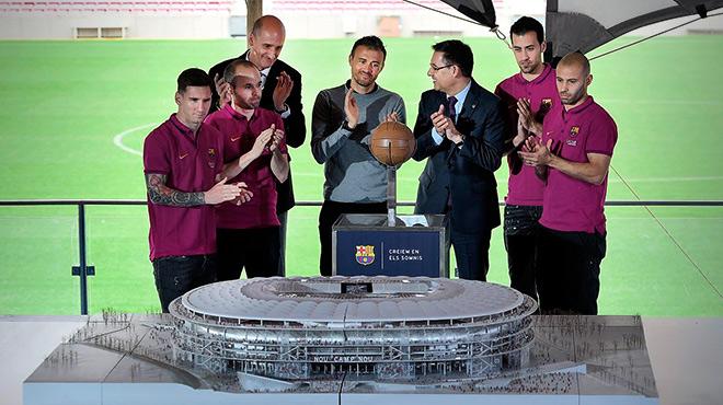 """Bartomeu: """"El nuevo Camp Nou será un icono de Barcelona"""""""
