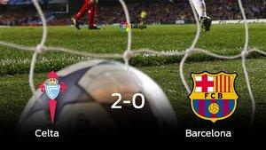 El Barcelona perdió 2-0 en casa del Celta