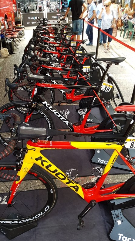 Bicicletas profesionales.