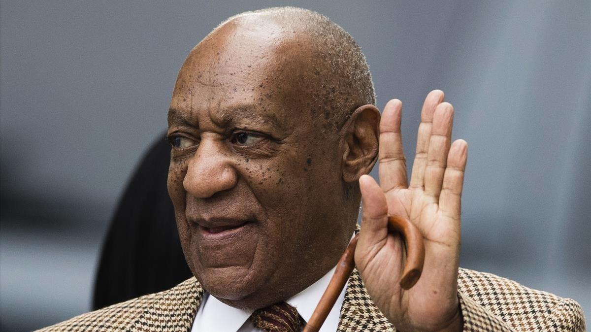 El actor, cómico y productor estadounidense Bill Cosby.