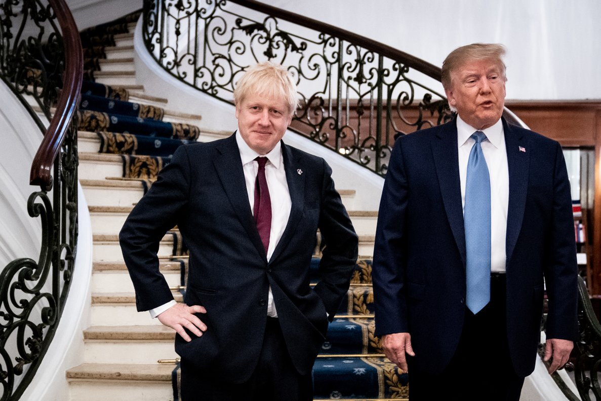 Trump muestra su apoyo incondicional a Boris Johnson